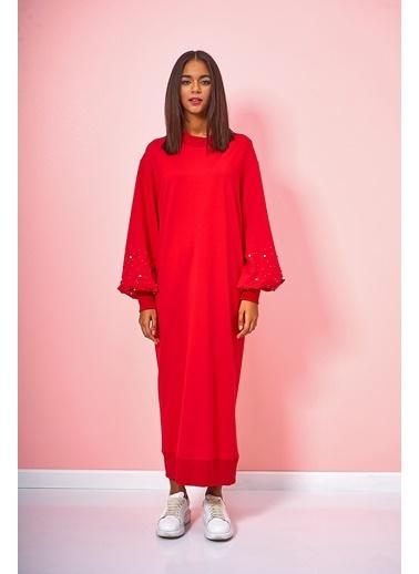 Eda Atalay Elbise Kırmızı